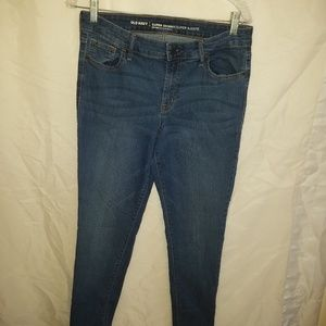 Old Navy super skinny jeans size 10 perfect